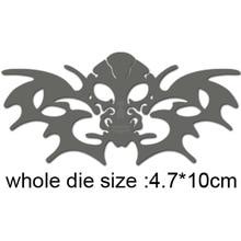 Bat Wing and Skull Metal Cutting Dies For Scrapbooking/DIY Christmas Wedding Halloween Cards Handmade Crafts 2020 New