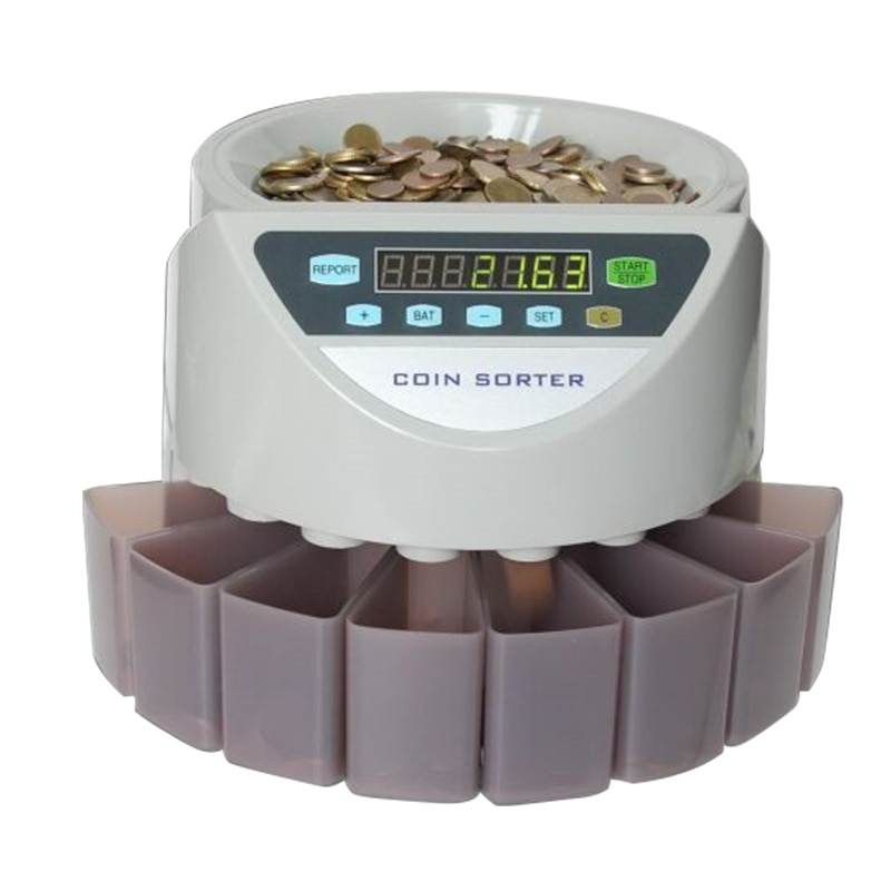 Xd-9002 فارز عملات معدنية عملة آلة العد يمكن تخصيص القطع النقدية من أوروبا وأمريكا وبريطانيا وجنوب شرق آسيا وبلدان أخرى