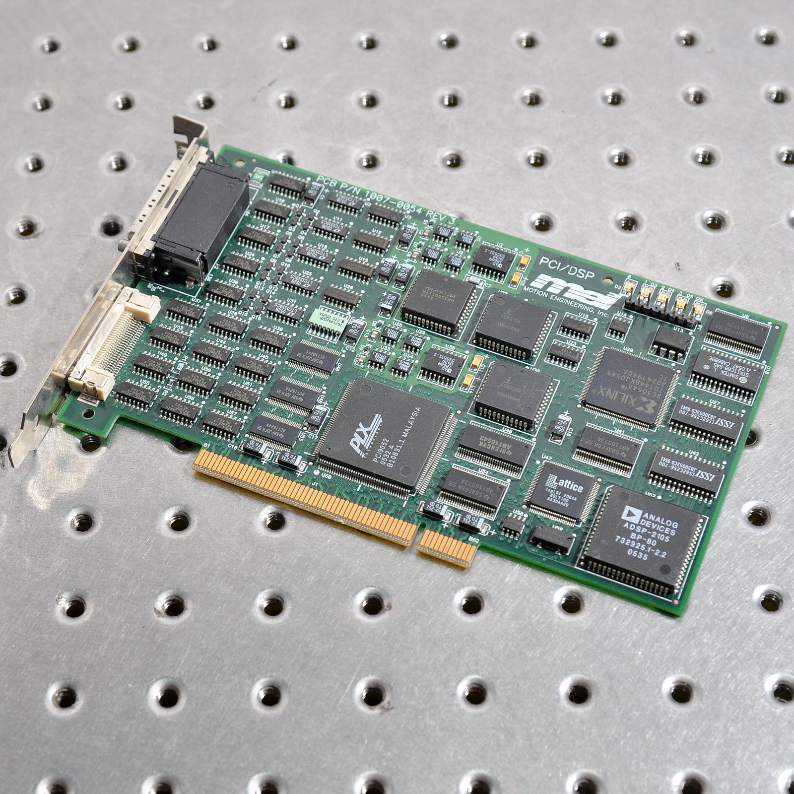 MEI PCI/DSP PCB P/N 1007-0054 REV.3 Servo card of motion control card