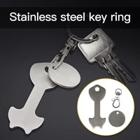 anti lost lightweight metal key chains decor accessories for household