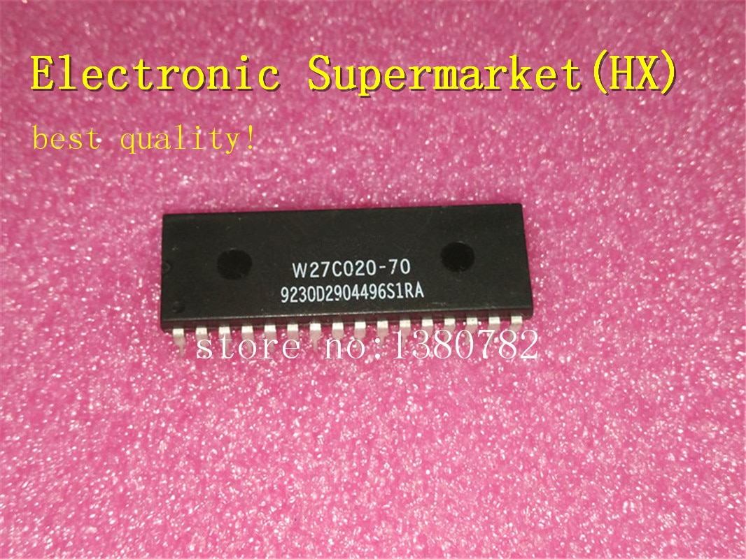 Free Shipping 20pcs/lots W27C020-70  W27C020  DIP-32  New original  IC In stock! недорого