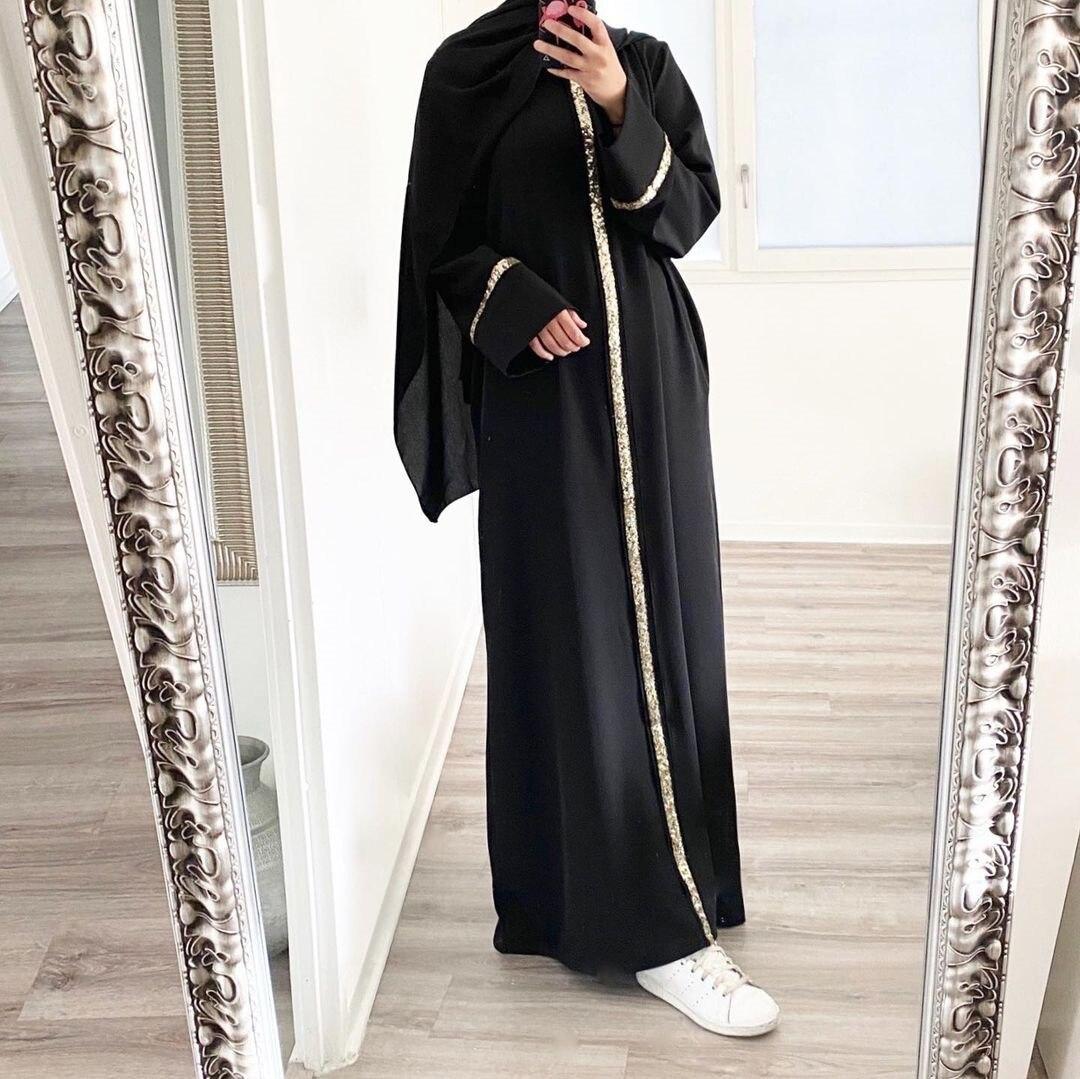 ИД Мубарак Абаи Дубай, Турция мусульманский хиджаб платье со стразами в африканском стиле; Юбка для танца живота для детей Абаи спортивные ж...