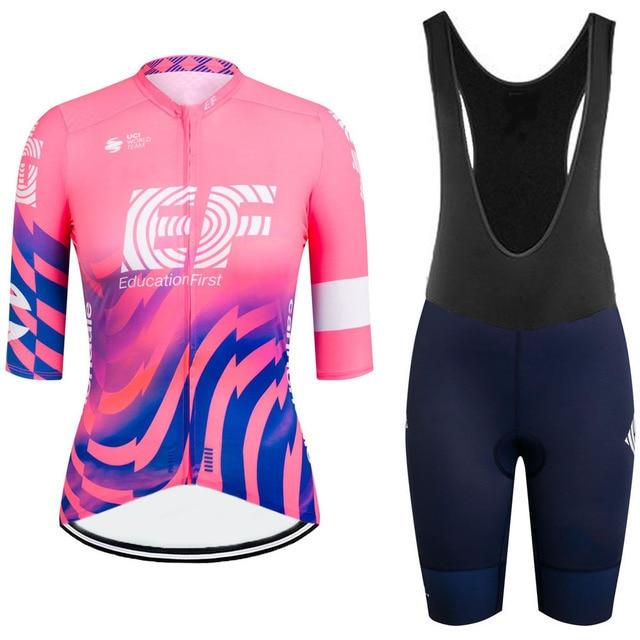Gobikeful-2021 Conjunto de ropa de ciclismo para mujer y camisetas y pantalones...