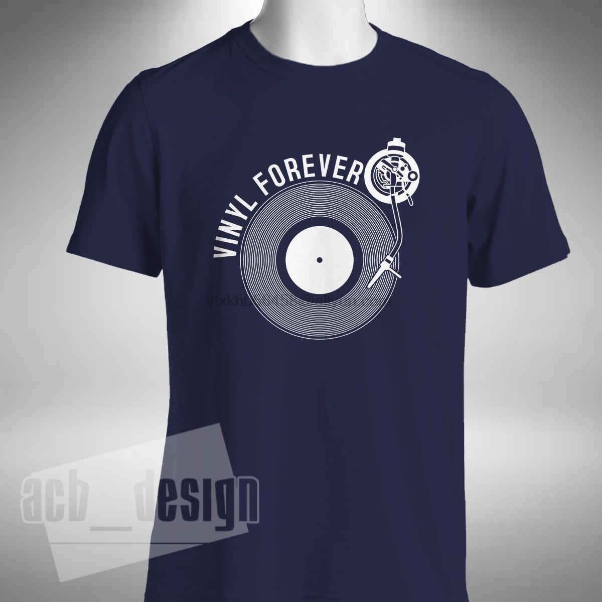 Nueva camiseta de moda de 2019, camiseta de vinilo para siempre, para hombre, camiseta de verano con grabador, Junkie, de vinilo, Old Skool Raver