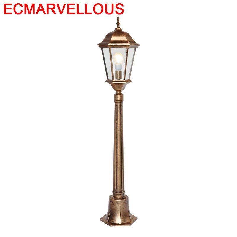 Giardino Lambasi Lampadaire Farola Lampioni Da Esterno Style Streetlight Sokak Lamba Decor Uliczna Off Road Plaza Street Light