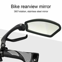 bicycle rear view mirror wide range back sight reflector left right fahrradspiegel space spiegel fahrrad universal 3d f%c3%bcr e bike