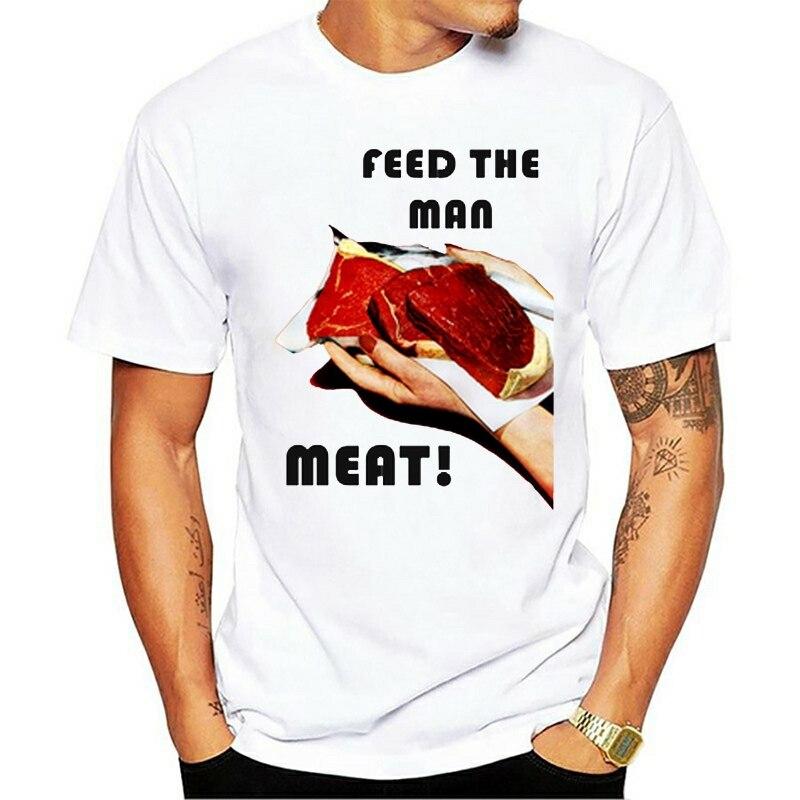 2021 nuevo verano camiseta alimentar el hombre bistec de carne barbacoa tipo...