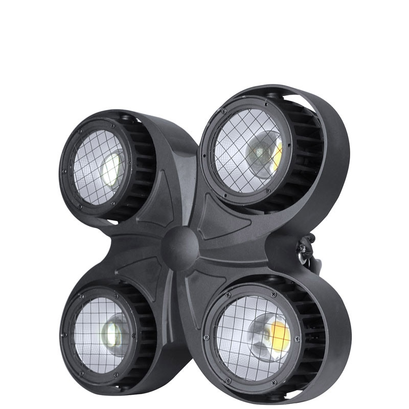 Nueva luz cegadora led impermeable para club nocturno peaky 4 ojos led impermeable cob etapa luz cegadora