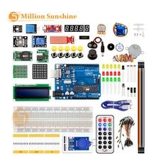 Новейший RFID стартовый набор для Arduino UNO R3 обновленная версия Обучающий набор с розничной коробкой EC11