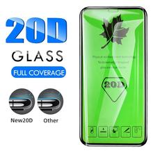 Screen Protectors 20D Curved Full Cover Tempered Glass Screen Protectors for iPhone 11 Pro Max Mobil