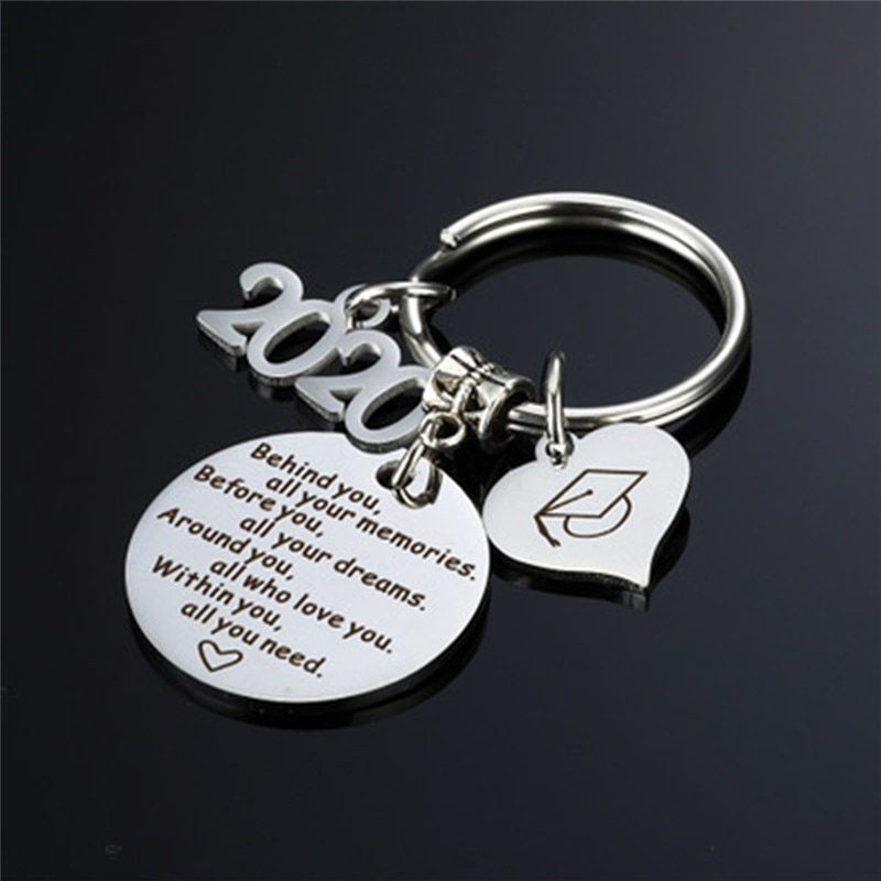 Graduation Gift Keychain 2020 Keychain College Graduation Gift for Graduates Fashion Charm Bag Tag G