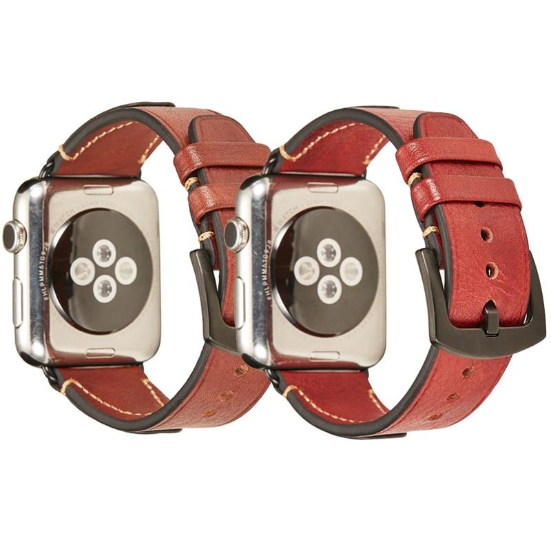 for apple watch leather band 44mm iwatch band 38mm 42mm 40mm strap genuine leather bracelet belt watchband aw series 4 3 2 1 44 strap for apple watch band Genuine leather loop 42mm 38mm watchband for iwatch 44mm 40mm series 5 4 3 2 1 bracelet belt