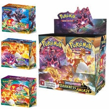 324Pcs Pokemon Cards TCG Sword Shield Darkness Ablaze Booster Box Children TOMY Game Card Collection