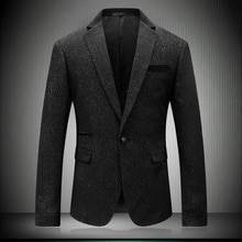 Jacket Black Snowflake Blazer Point 2021 Important Party US Wedding Blazers Gentleman Stage Wear Sma