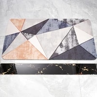 home non slip front door mat absorbent kitchen rugs%ef%bc%8cbathroom feet mat%ef%bc%8cliving room hallway floor rugsmodern geometric style