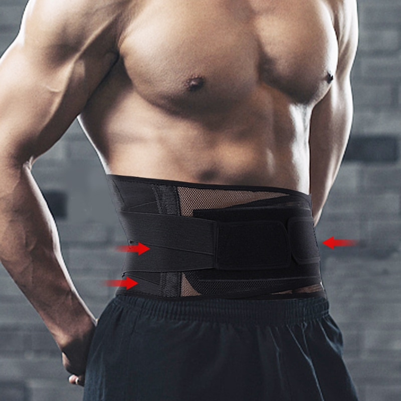 Self-Heating Support Waist Protection Men Women Adjustable Breathable Protective Belt Protect Gear Fitness Running Health Care