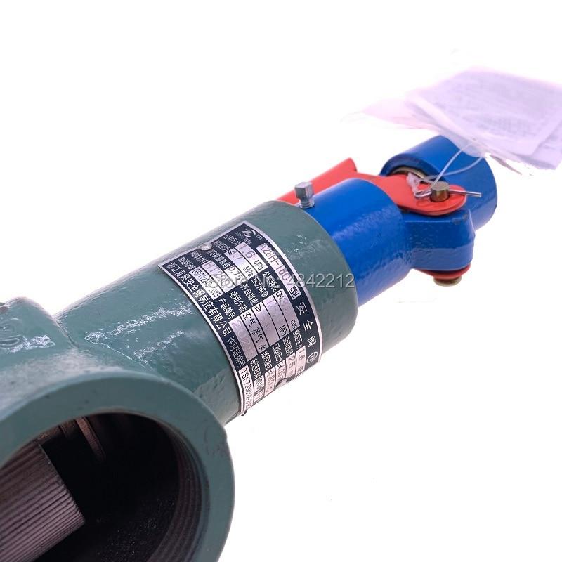 Free shipping 2pcs/lot A28H-16 DN32/ DN40/ DN50 steam spring safety valve 0.7-1.1MPA