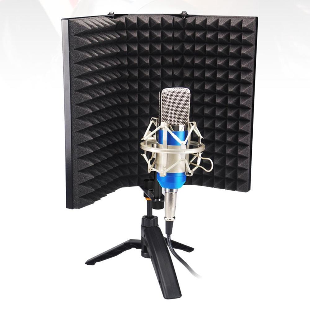 新しいレコーディングスタジオウインドスクリーンマイク風防マイク防音画面サウンドノイズカバー騒音防止システム