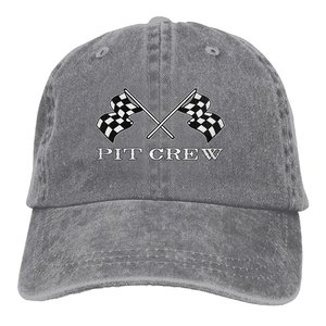 Checkered Flags Race Car Flag Unisex Adult Baseball Hat Sports Outdoor Cowboy Cap for Men and Women Snapback