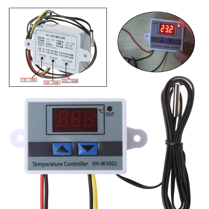 Pet термостат для рептилий Высокоточный температурный переключатель микрокомпьютера цифровой дисплей инкубационный контроллер 0,1 градусов