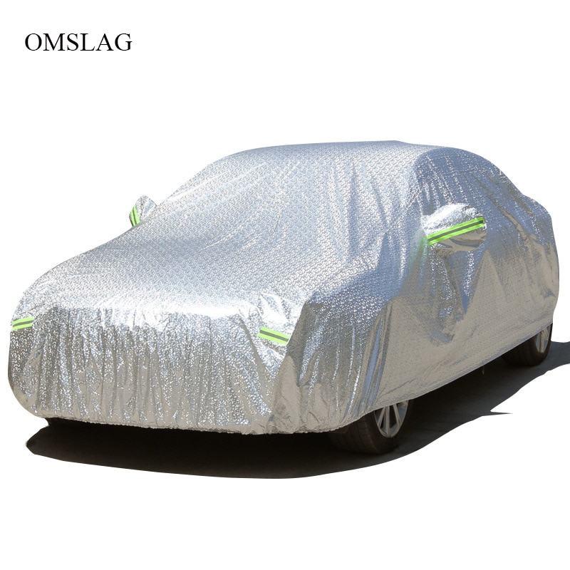 OMSLAG Outdoor Car Covers Waterproof sun protection cover for car reflector rain snow protective For General Motors SUV/Sedan