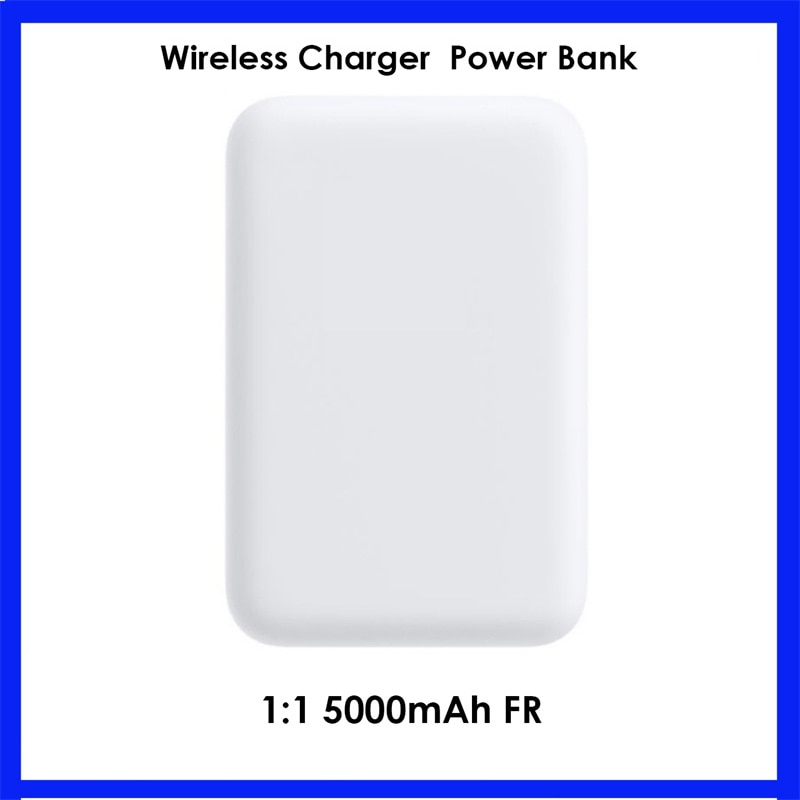 5000mAh Wireless Magnetic Power Bank 1:1 For iphone 12 12promax For 13 mini charger Mobile Phone pow