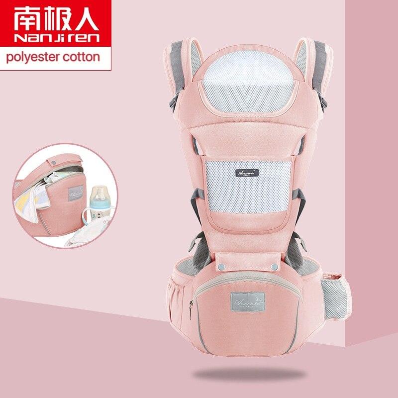 NANJIREN baby gear Ergonomic baby sling back front side polyester carry backpacks 0-48m kangaroo front facing baby carrier