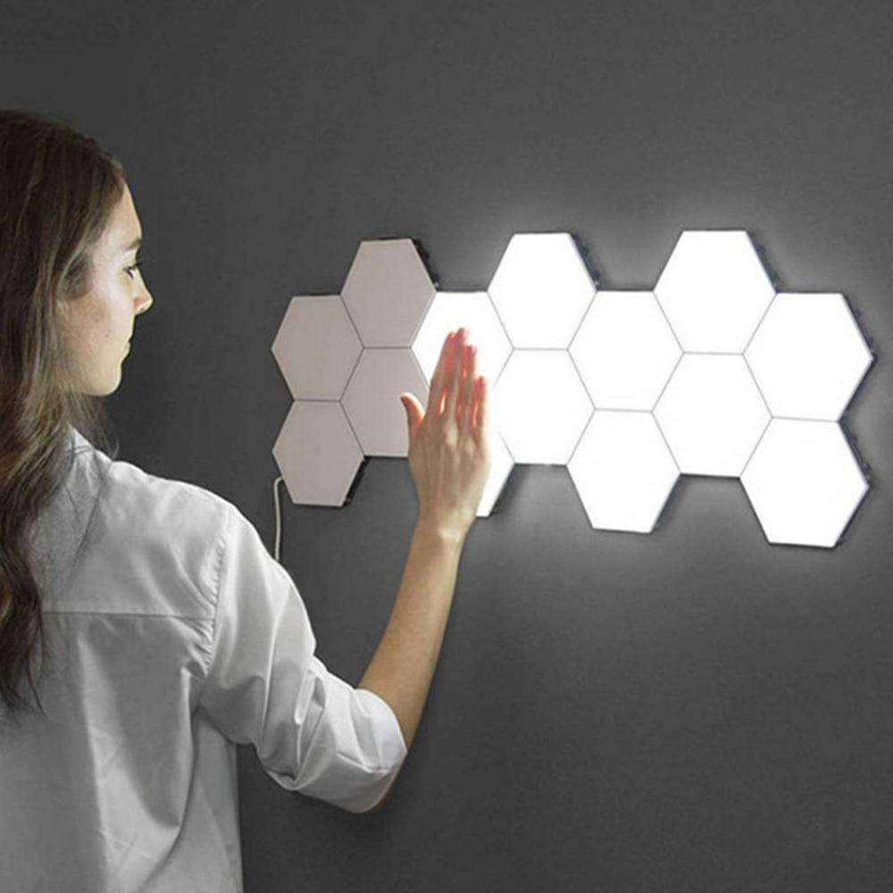 الإبداعية المغناطيسي العسل اللمس مصباح LED ليلة ضوء اللمس الحساسة الإضاءة LED أضواء ليلية داخلي المنزل مكتب مصباح ديكور
