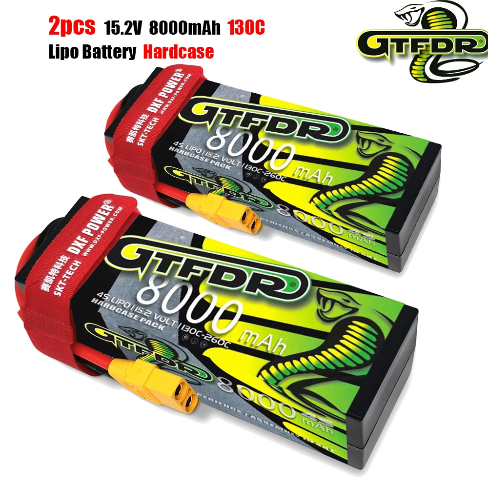 GTFDR 3S 4S Lipo Battery 11.1V 14.8V 15.2V 6750mAh 8000mah 7500mah 6400mah 100C 200C 140C 280C 130C 260C for RC 1/8 Buggy Car enlarge