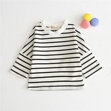 0-24m newborn baby girls shirt cotton long sleeve infant kids blouse cozy toddler baby boys tops children shirt Spring autumn