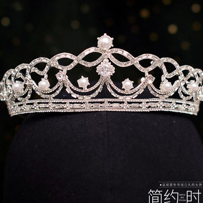 Nuevas tiaras de diamantes de imitación para novia, accesorios de princesa de...