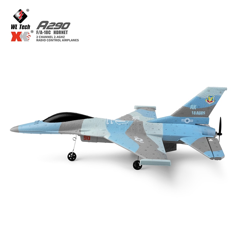 Wltoys XK A290 F16 RC Airplane Remote Radio Control Aircraft 3CH 452mm 3D/6G System plane Drone Wingspan Toys For Children Gifts enlarge