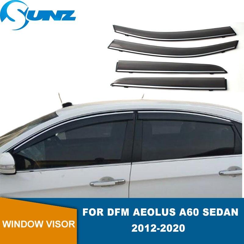 Side Window Deflector For DFM Aeolus A60 Sedan 2012 2013 2014 2015 2016 2017 2018 2019 2020 Window Visor Weathershields SUNZ