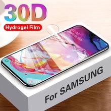 30D Hydrogel Film Auf Für Samsung Galaxy A70 A50 A30 A20 A10 Screen Protector S10e S10 Note10 Plus Weichen Schutzhülle film Nicht Glas