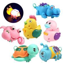Bonito polluelo, cuerda de cuerda, Animal, tiras, modelo de iluminación LED, juguete de desarrollo para niños