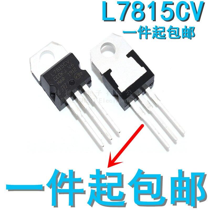 10 pçs/lote novo l7815cv 15 v regulador de três terminais para-220 lm7815