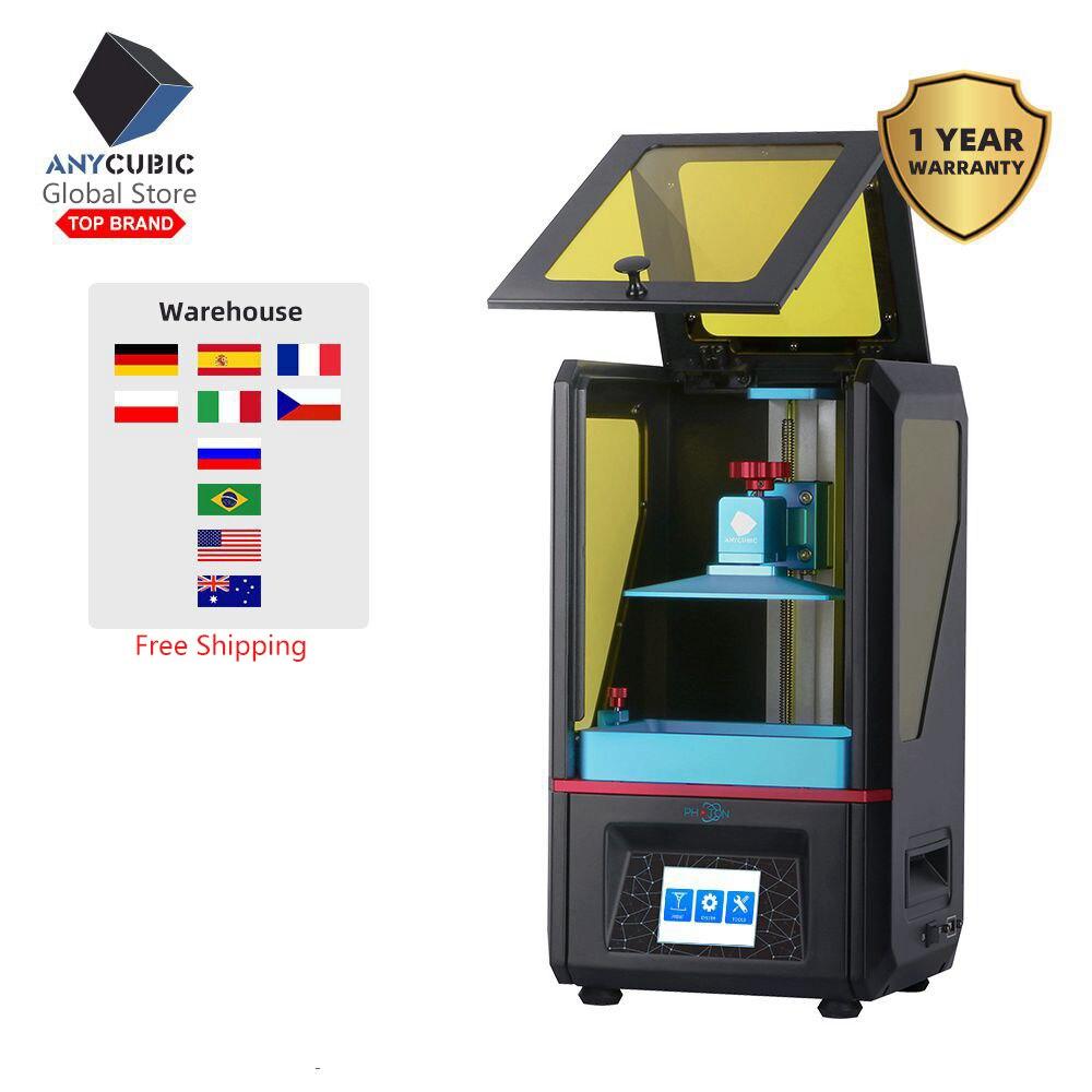 2019 ANYCUBIC PHOTON DIY 3D 프린터 2.8 터치 2K 스크린 수지 SLA/LCD UV 라이트 큐어 슬라이서 imprimante 3d impresora stampante 3D