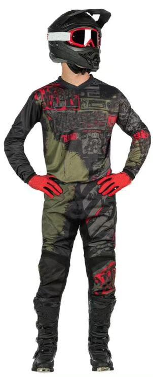Nueva fábrica de camiseta de Motocross y pantalón superior ATV BMX Moto Gear Set camiseta ATV Set Moto ropa MX Combo