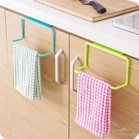 Offre Speciale porte-serviettes support suspendu organisateur salle de bain armoires de cuisine placard cintre WH accessoires de cuisine livraison directe