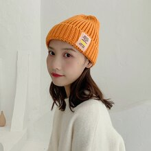 Hat Female Autumn and Winter Korean Fashion Cute Earflaps Woolen Cap Japanese Style Soft Girl Studen