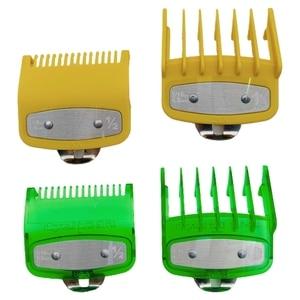 2PCS Barber Shop Styling Guide Comb Hair Trimmer Clipper Oil Head Limit Comb