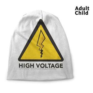 High Voltage-Édition 2020 Hip Hop Head Caps Beanies Beanie Hats 2020 Dessin Voltage Pika Éclair Panneau Route Road Electric