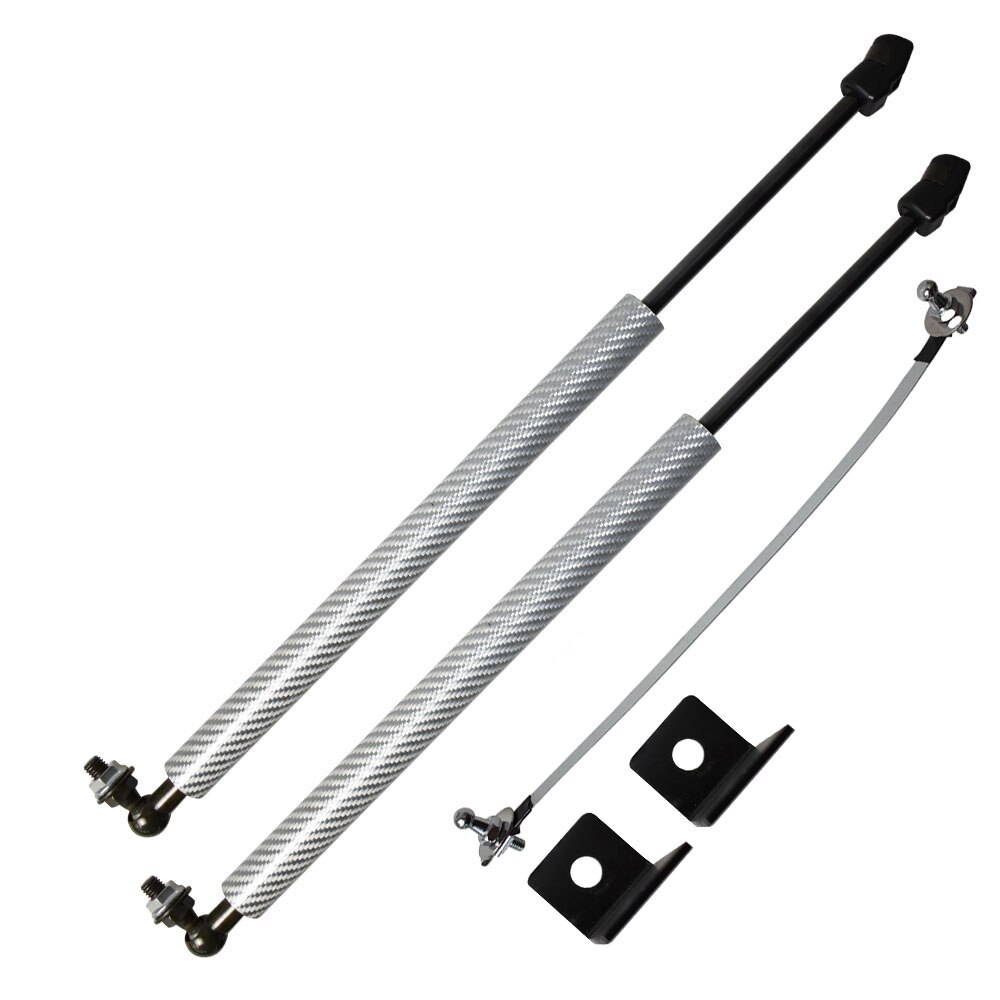Car Styling Bonnet Modify Gas Struts for Kia Niro (DE) 2016-2020 Lift Support Shock Damper Carbon Fiber Absorber