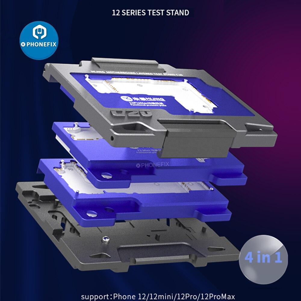 MiJing اللوحة الطبقات اختبار حامل C20 ل فون 12/12 البسيطة/12Pro/12Pro ماكس اللوحة وظيفة تشخيص iSocket تركيبات