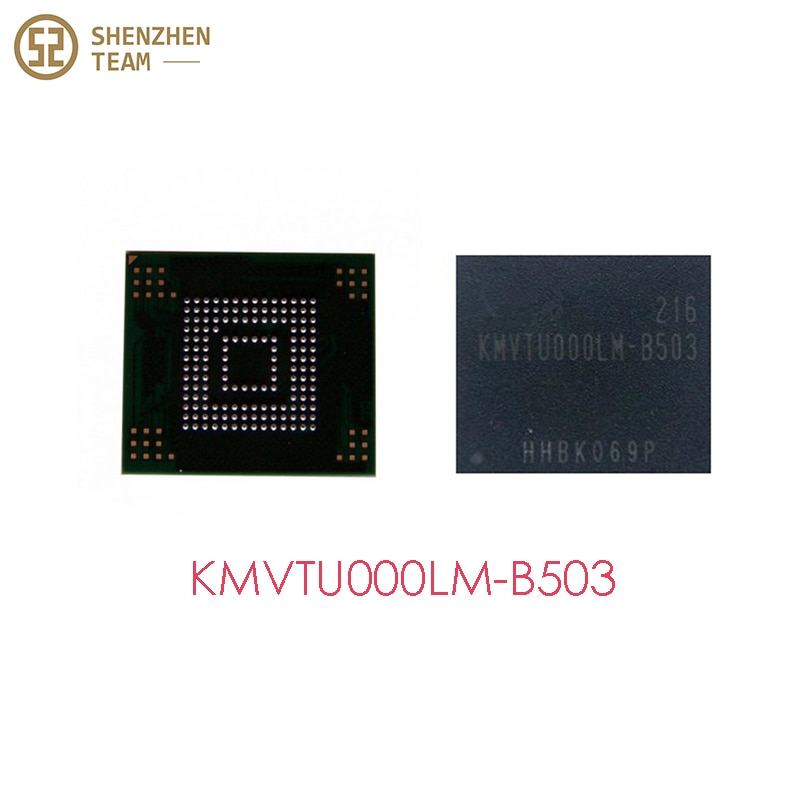 SZteam 10 قطعة/الوحدة EMMC KMVTU000LM-B503 لسامسونج I9300 s3 ذاكرة فلاش مع البرامج الثابتة بغا كرات reball شرائح