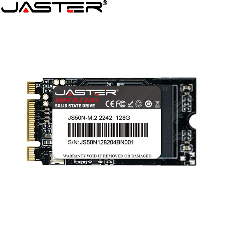 Jaster ssd m.2 2242 ngff m2 500gb 128gb 256gb 512gb interno unidade de estado sólido computador portátil deskop servidor