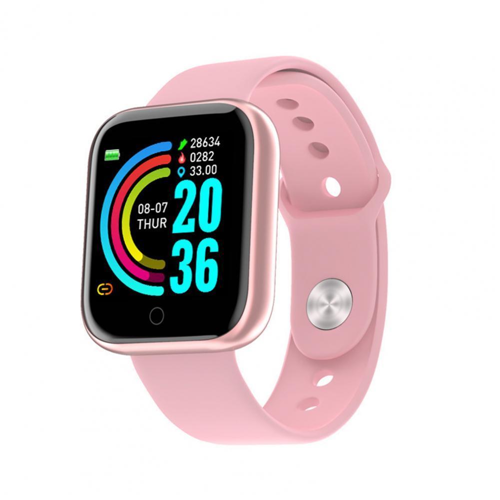 2021 D20s Smartwatch Men Women Blood Pressure Heart Rate Monitor Waterpoof Smart...