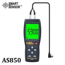 Ultrasone Diktemeter Tester Sound Velocity Meter Metalen Breedte Meetinstrument 1.2 Tot 225Mm Voor Staal Aluminium Plaat