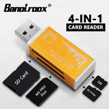 4 в 1, устройство для чтения Micro SD-карт