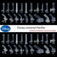 Disney-accesorios para botella de agua para niños, boquilla de succión de silicona General, boquilla de ventosa para taza Babycare, termo, boquilla de succión